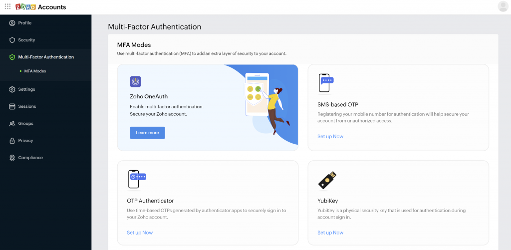 Zoho-2FA-solution-for-account-protection